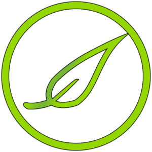 All Natural Green Leaf Icon